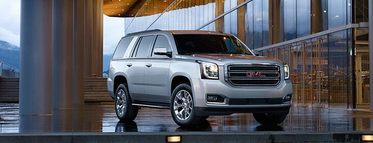 View exterior photos of the All-New 2015 Yukon full size SUV