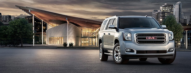 The 2015 Yukon XL full size extended SUV with superior capability, comfort and towing capacity.
